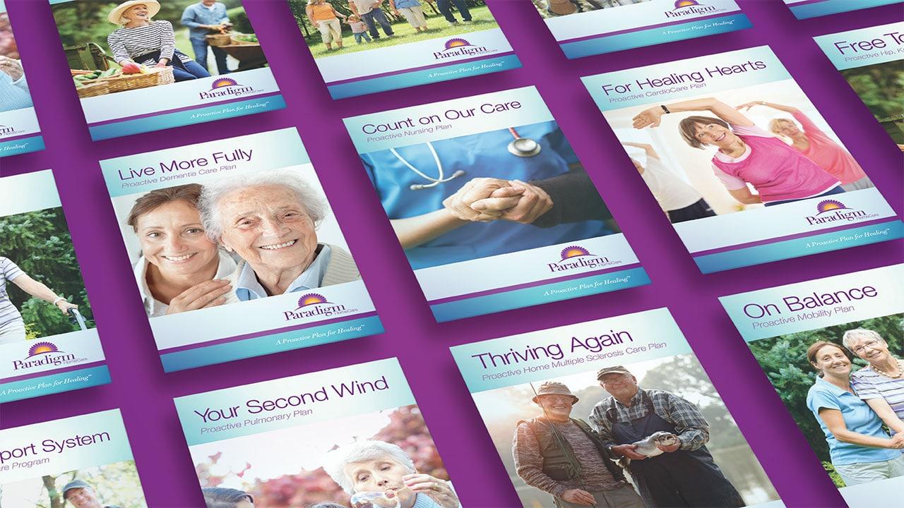 Paradigm Homecare Brochure Inserts