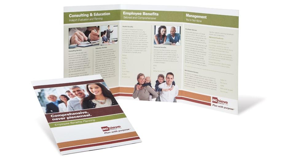 Achieve Financial Group Brochure