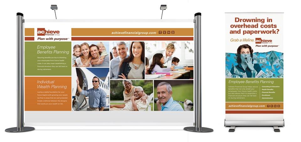 Achieve Financial Group Tradeshow Display