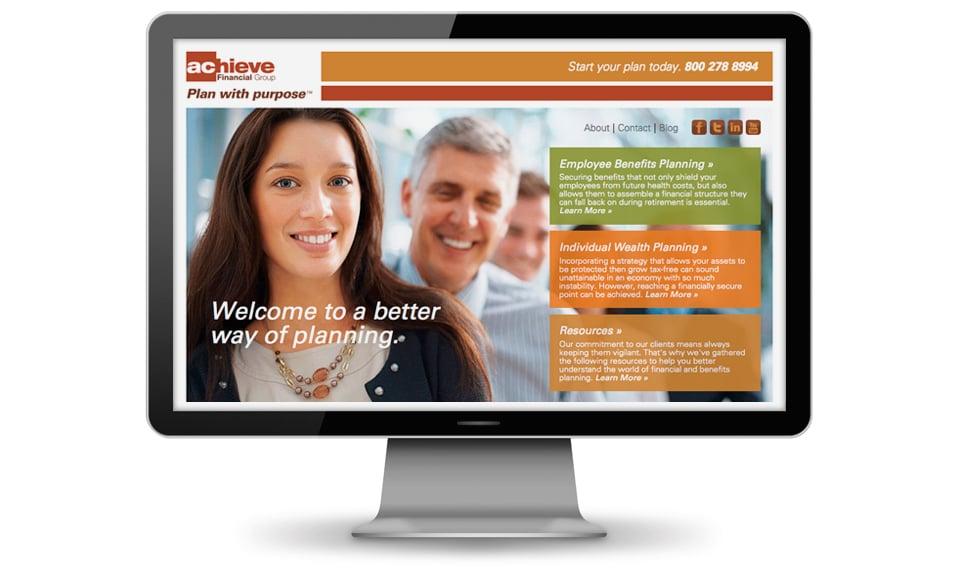 Achieve Financial Group Website