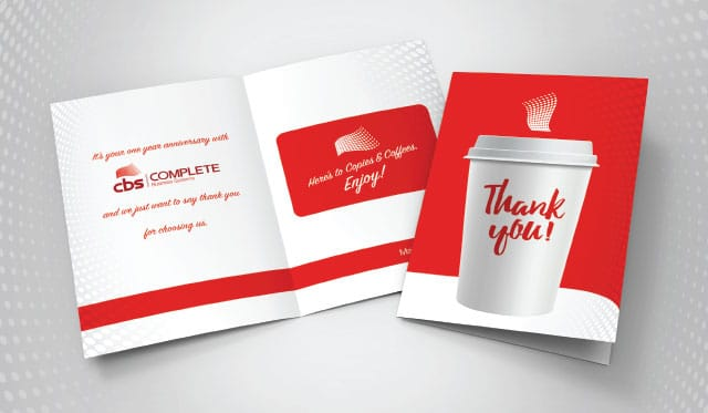 CBS - Thank You Cards