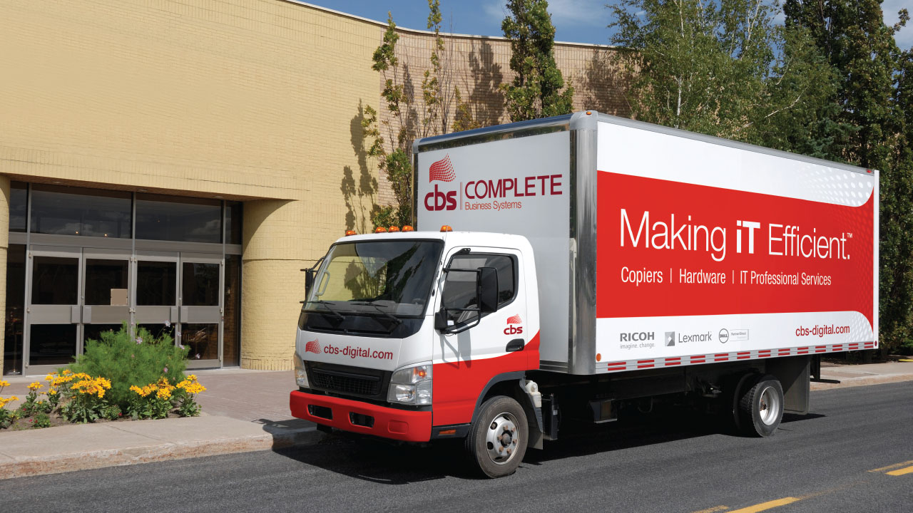 CBS Delivery Truck