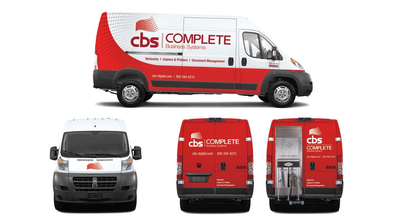 CBS - Delivery Van