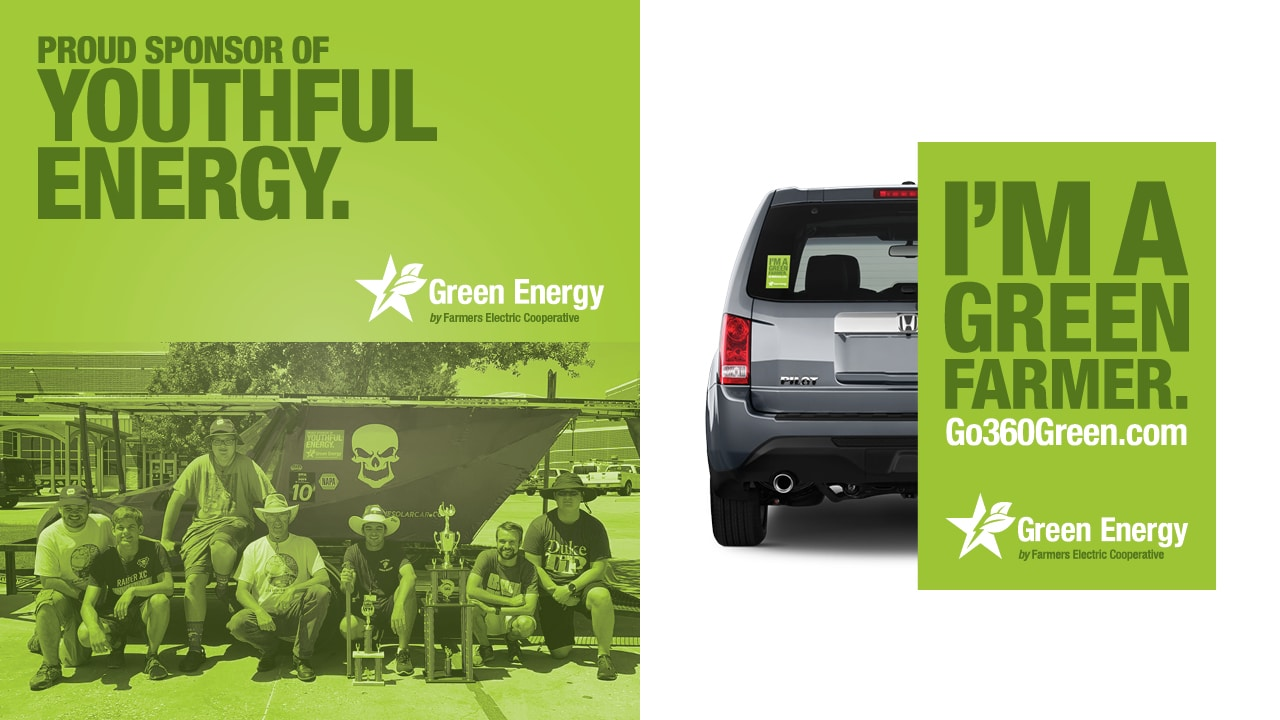 Farmers EC Green Energy Sponsorship