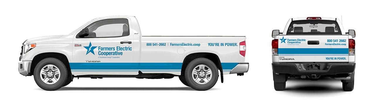 Farmers EC - Truck Wrap