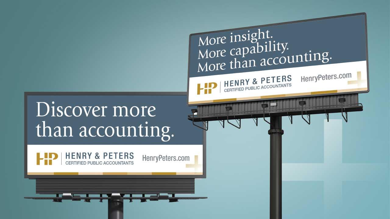 Henry & Peters Outdoor Billboard