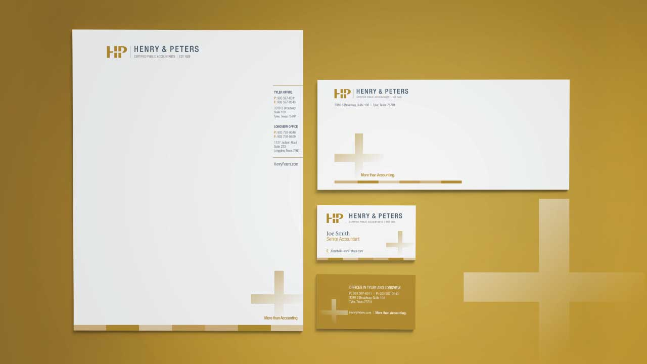 Henry & Peters Stationery