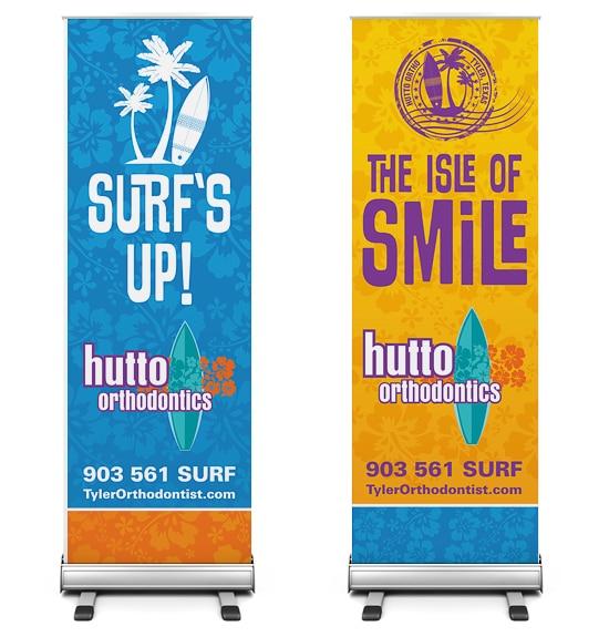 Hutto Orthodontics Display Signage