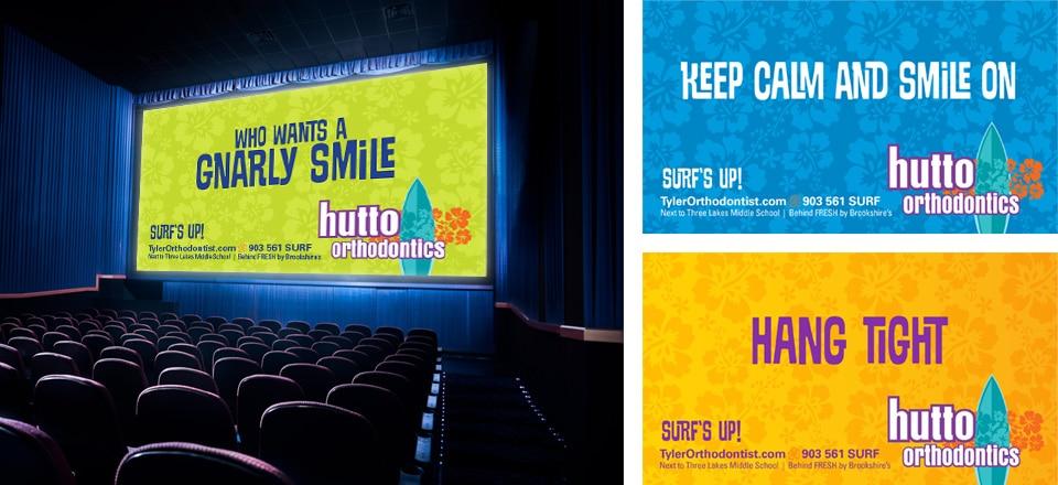 Hutto Orthodontics Movie Slides
