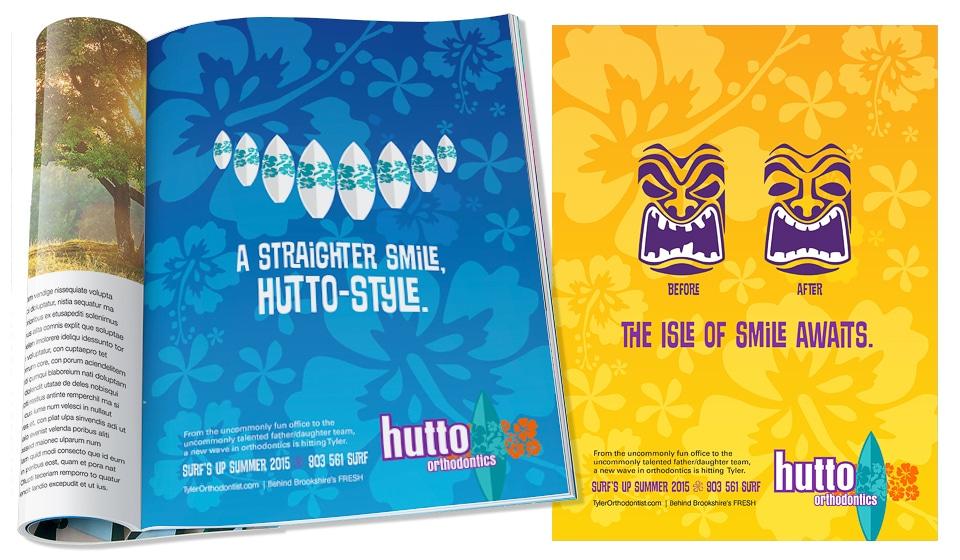 Hutto Orthodontics Print Ads