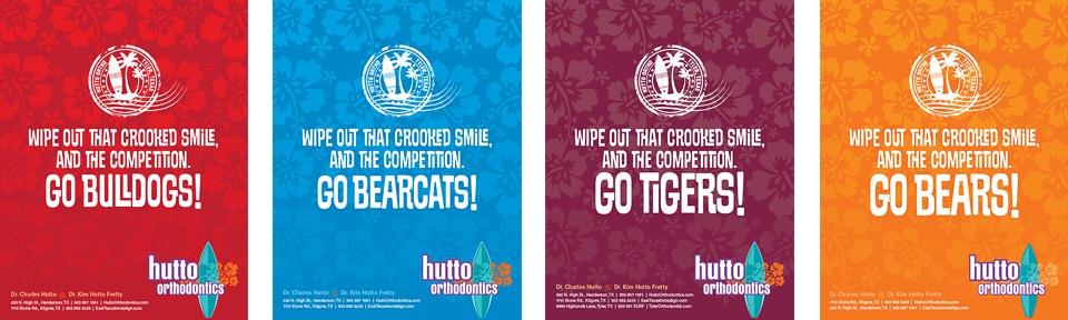 Hutto Orthodontics High School Program Ads