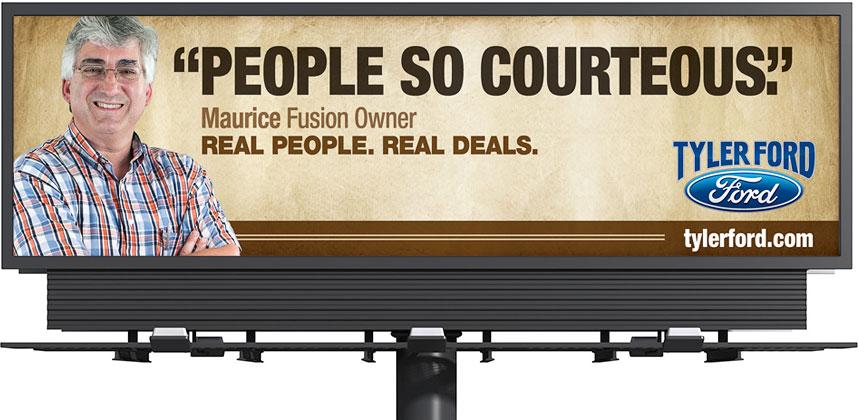 Tyler Ford Outdoor Billboard