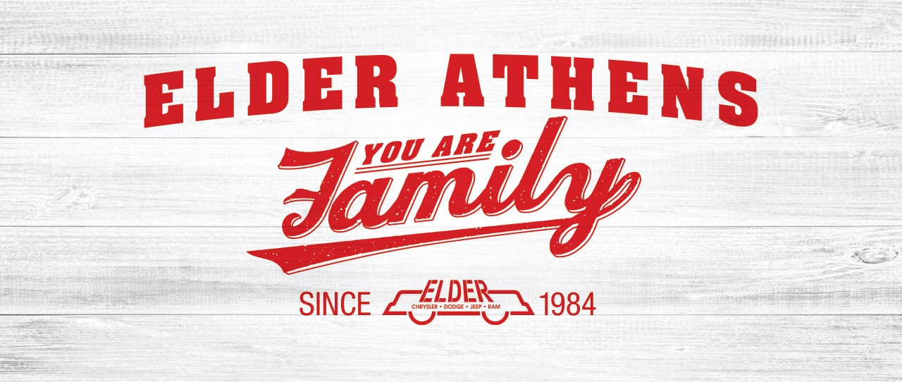 Elder Athens Dodge - You Are Family