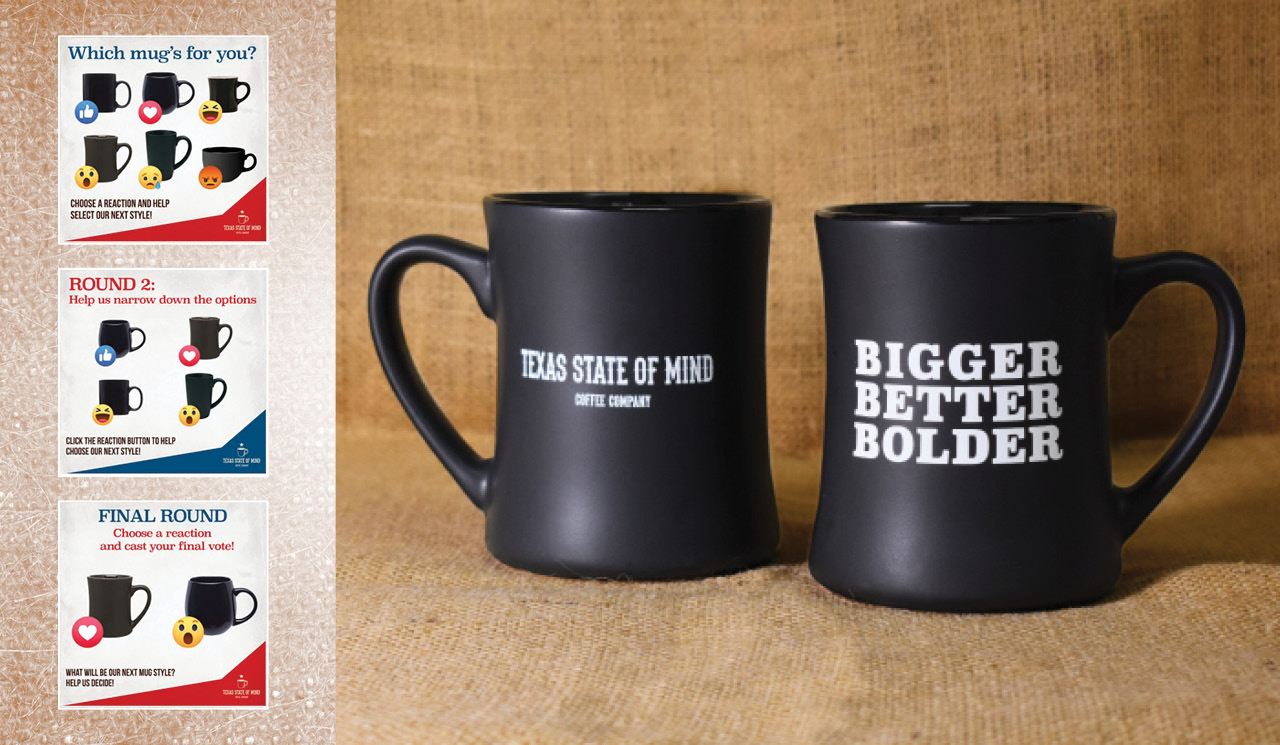 Texas State of Mind Coffee - Mugs