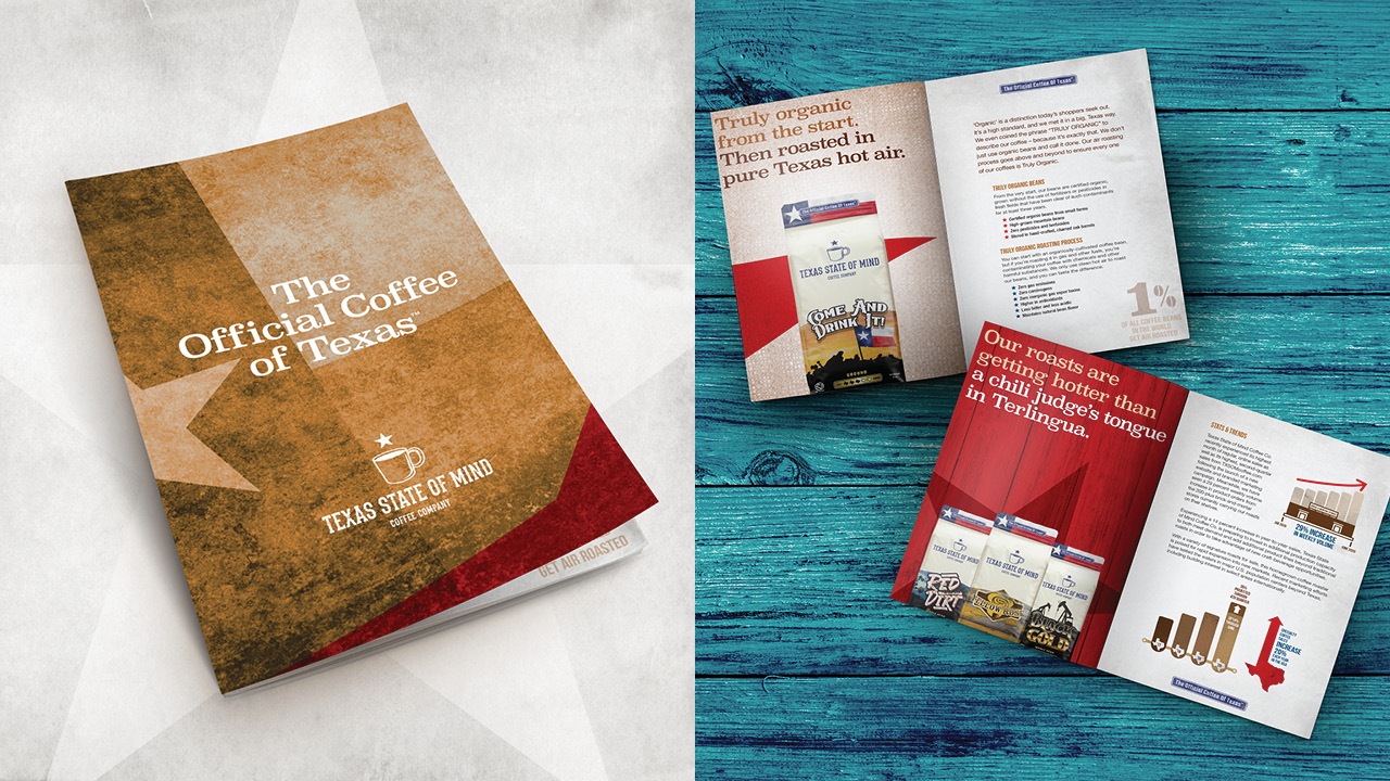 Texas State of Mind Coffee - Brochure