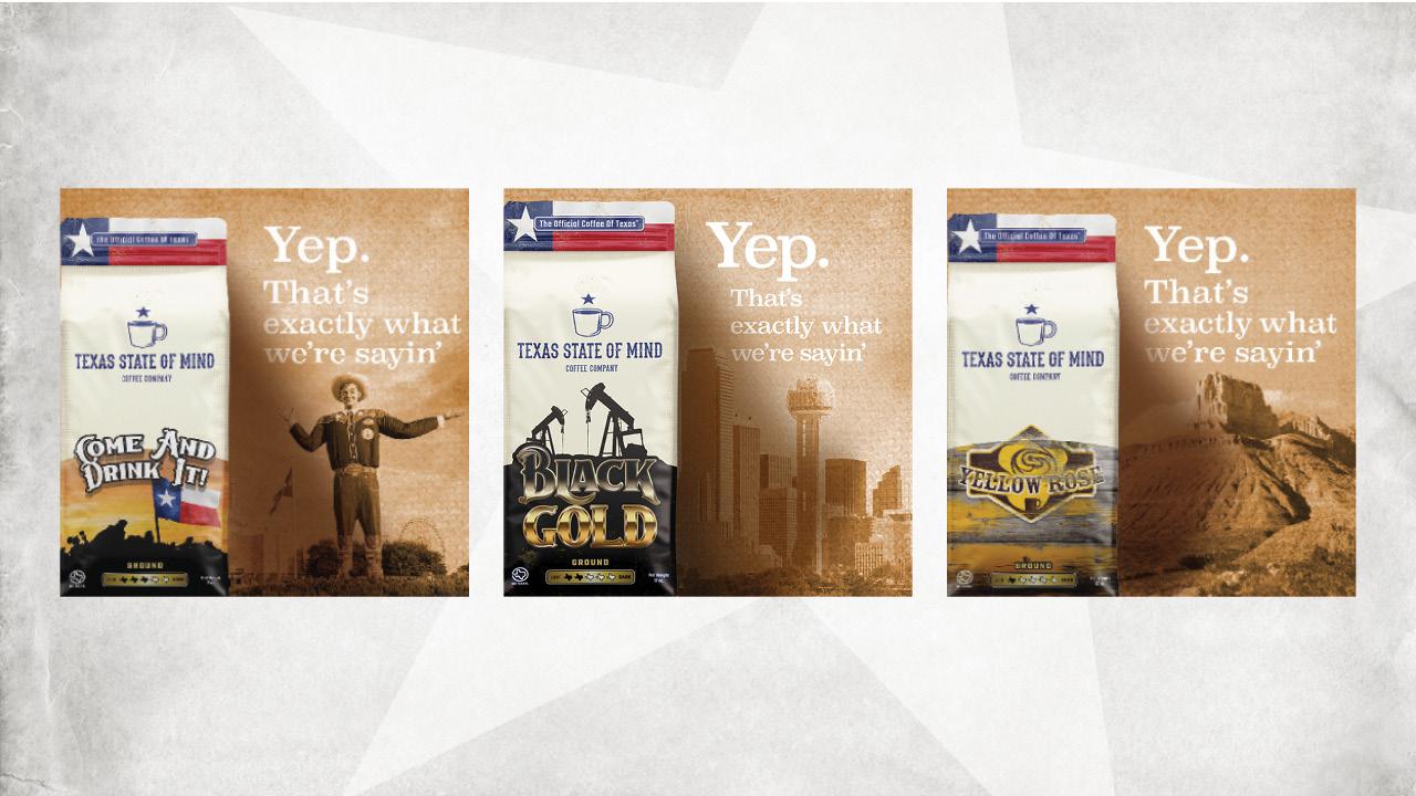 Texas State of Mind Coffee - Digital Ads